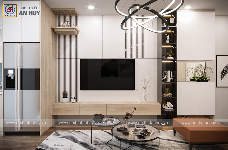 Thiết kế thi công căn hộ loại C, D chung cư FLC Green Apartment – 47m2