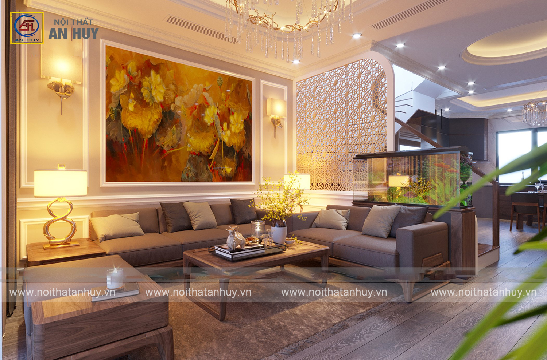 Thiết kế nội thất biệt thự Gamuda mang nét đẹp bình yên