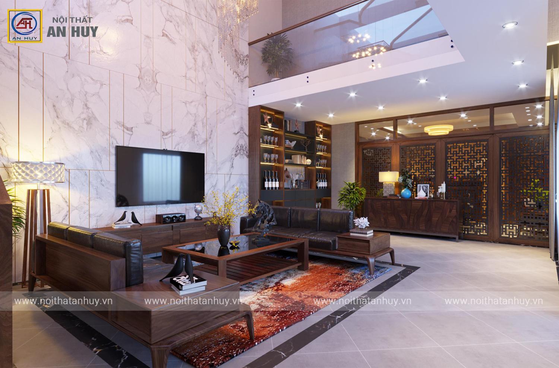 Thiết kế thi công nội thất biệt thự phố Nối – Hưng Yên