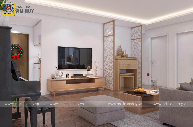 Thiết kế căn hộ Chung cư Golden Palm – Lê Văn Lương