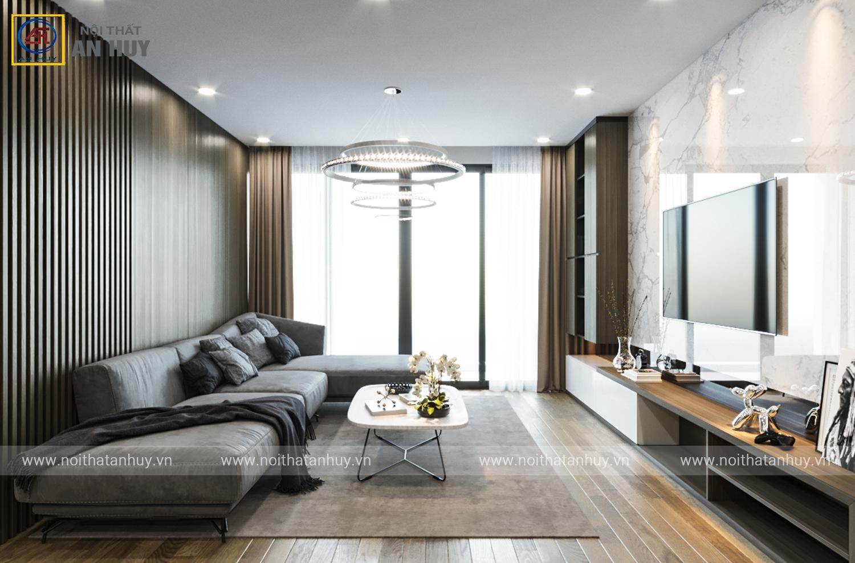 Thiết kế nội thất chung cư Vinhomes SkyLake – Phạm Hùng
