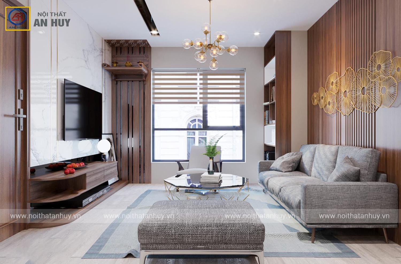 Trải nghiệm thiết kế nội thất chung cư ICID Lê Trọng Tấn