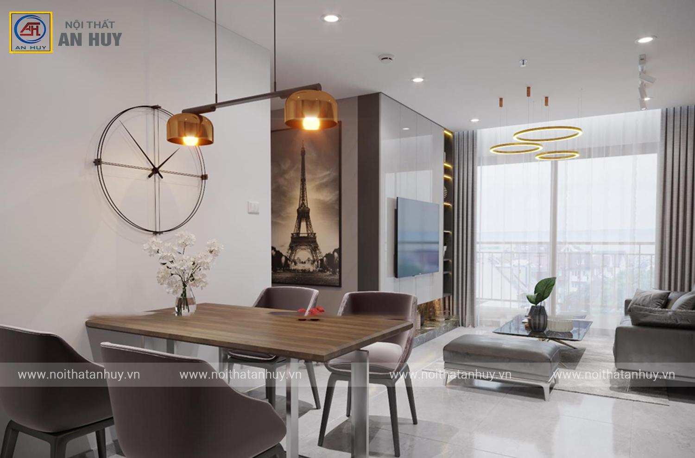 Thiết kế nội thất chung cư Vinhomes Ocean Park – 80m2