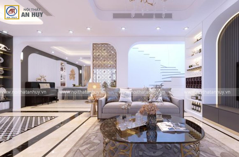 Thiết kế thi công nội thất Biệt thự Khu đô thị Việt Hưng Long Biên