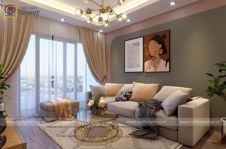 Thiết kế nội thất chung cư Anland 2 – Tố Hữu