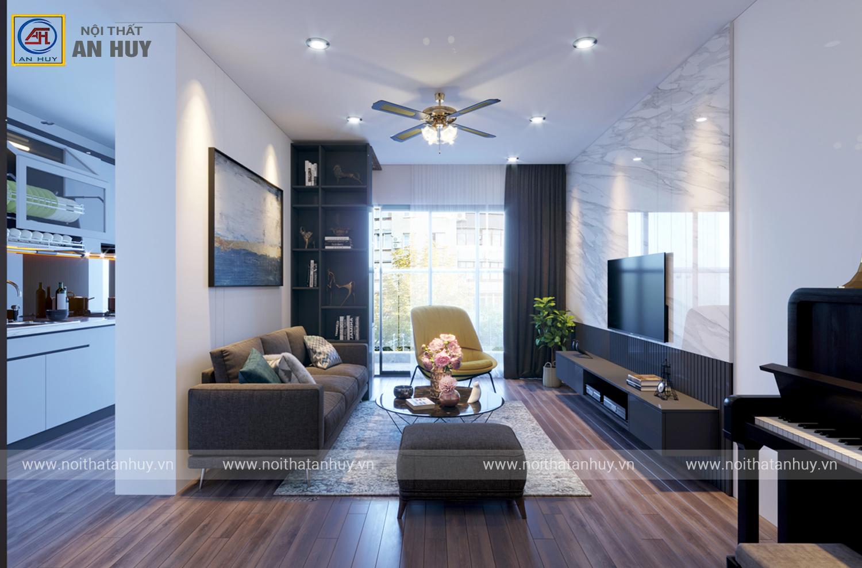 Thiết kế thi công nội thất chung cư Five Seasons – 47 Nguyễn Tuân