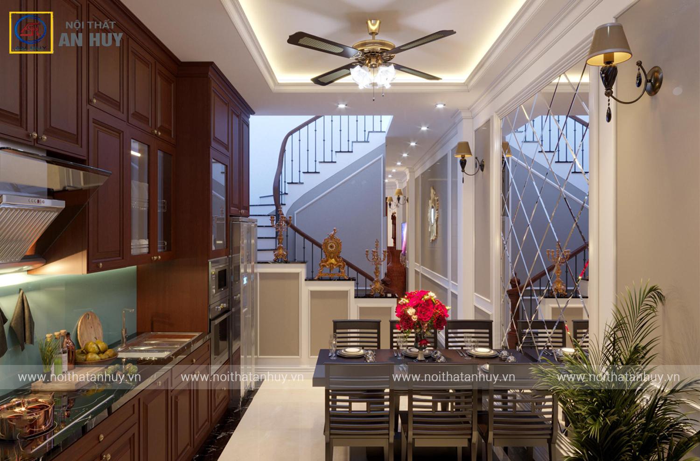 Thiết kế nội thất nhà phố Thành Công – Chú Thủy
