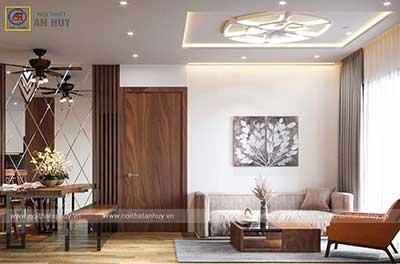 Thiết kế thi công nội thất chung cư The Zen – Gamuda căn 3 ngủ