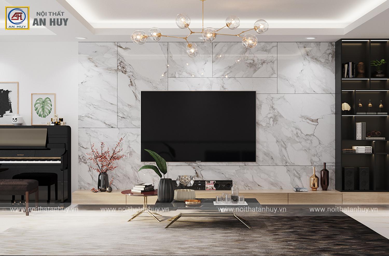 Thiết kế thi công nội thất chung cư Ciputra – 115m2
