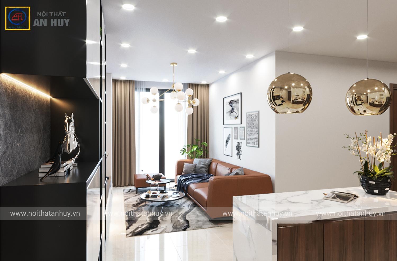 Thiết kế thi công nội thất chung cư FLC Green Apartment – 18A Phạm Hùng