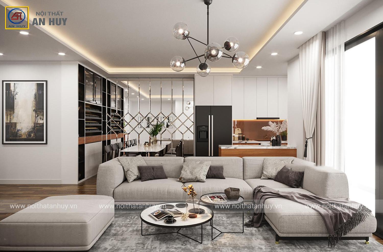 Thiết kế thi công nội thất chung cư Imperia Garden – Minh Khai