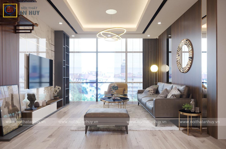 Thiết kế thi công nội thất chung cư Sunshine City – Mr Kiên