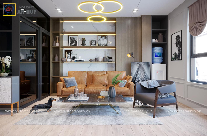 Ngắm nhìn thiết kế nội thất nhà phố Hoàng Hoa Thám đẹp mê ly