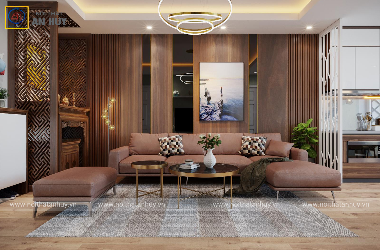 Thiết kế cải tạo nhà chung cư B14 Phạm Ngọc Thạch