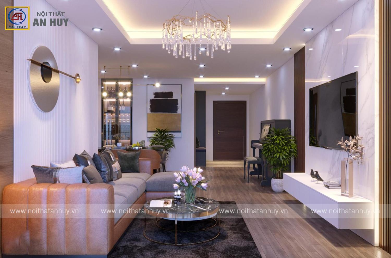Thiết kế nội thất chung cư Thống Nhất