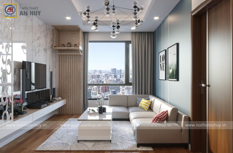 Thi công căn hộ chung cư 3 phòng ngủ An Bình City – Anh Đạt