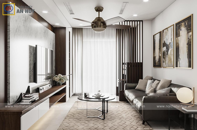 Ngắm nhìn thiết kế nội thất chung cư Mỹ Đình – Chung cư GoldenField