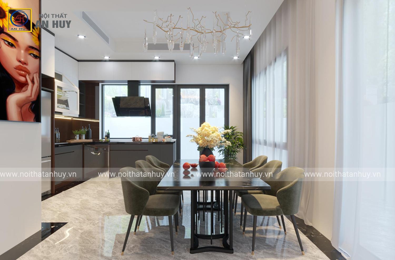 Thiết kế nội thất biệt thự Gamuda – khu Dahlia Homes