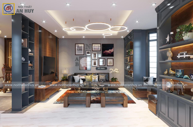Thiết kế thi công nội thất nhà phố Lương Tài – Bắc Ninh