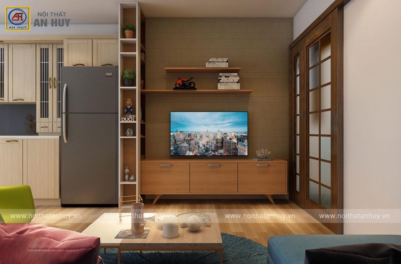 Thiết kế thi công căn hộ 80m2 chung cư Linh Đàm