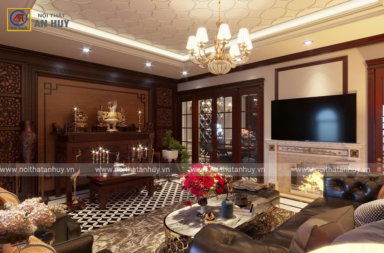 Thiết kế nội thất biệt thự Louis Đại Mỗ