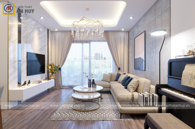 Thiết kế thi công cải tạo nội thất chung cư PCC1 tại Mỹ Đình