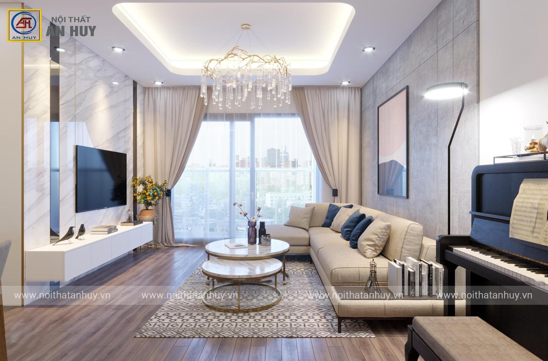 Thiết kế nội thất chung cư PCC1 tại Mỹ Đình