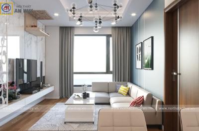 Thiết kế nội thất chung cư 3 phòng ngủ Mẫu 3
