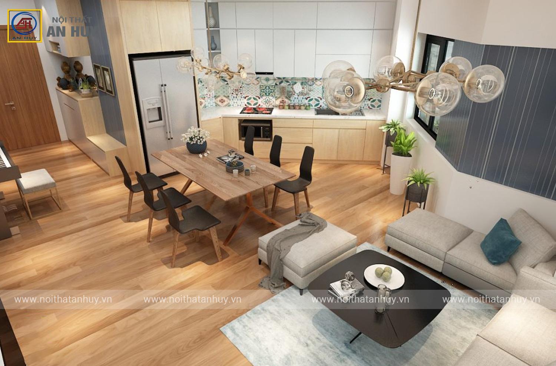 Cải tạo căn hộ chung cư Làng Quốc Tế Thăng Long