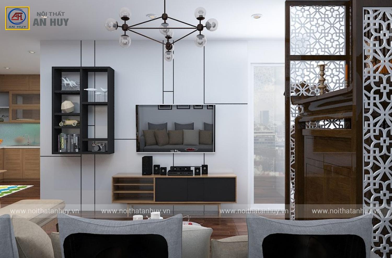 Thiết kế thi công nội thất chung cư GoldMark – Chị Ngọc