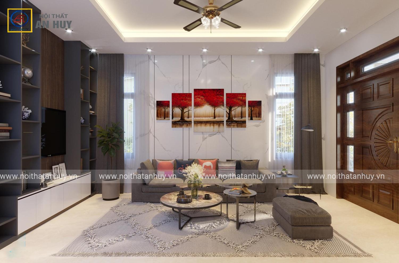 Mẫu thiết kế nội thất căn hộ nhà anh Long – Hải Dương