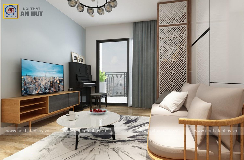 Thiết kế thi công nội thất chung cư 789 Bộ Quốc Phòng – Chị Linh