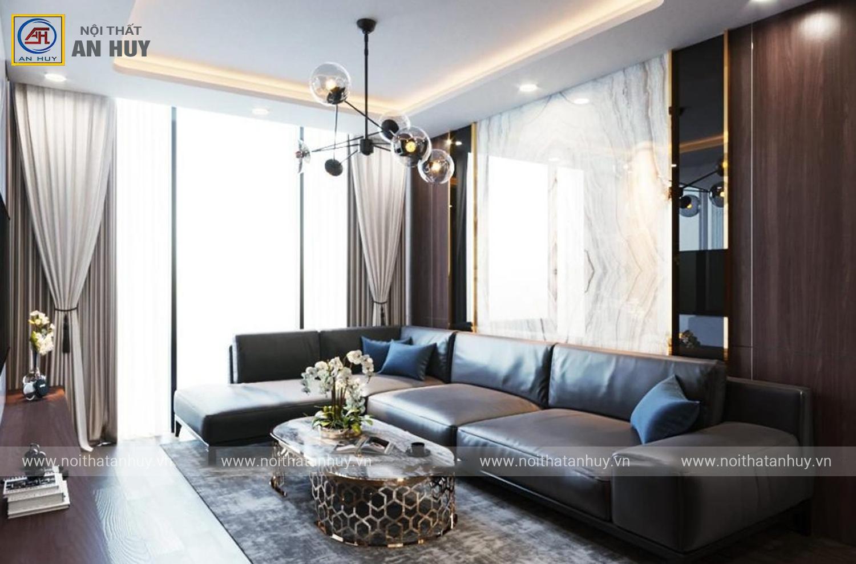 Thiết kế nội thất chung cư Sunshine City Ciputra – Căn 05 toà S1