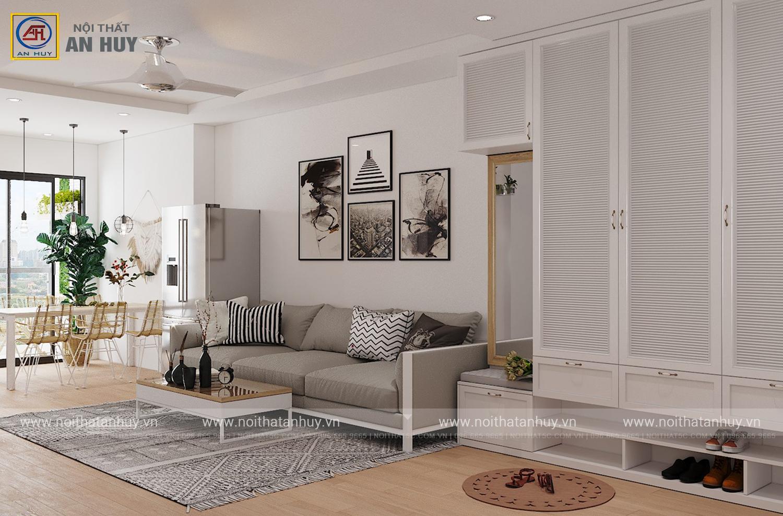 Cải tạo nội thất chung cư GoldSilk – Vạn Phúc Hà Đông theo phong cách Scandinavian