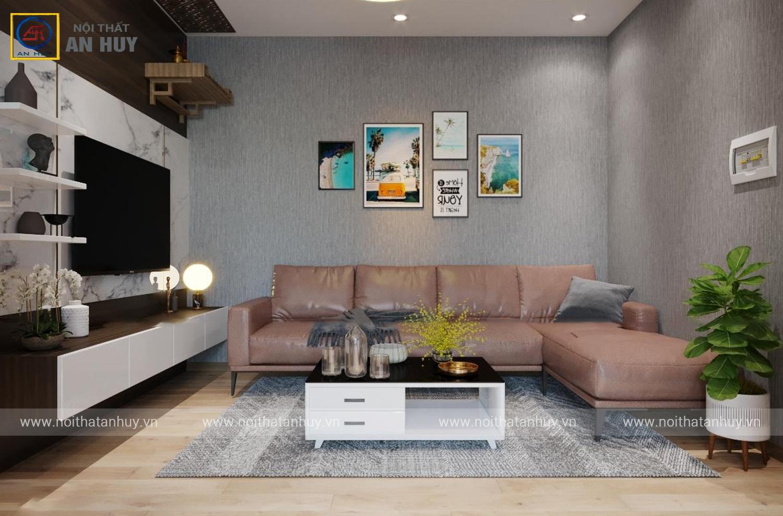 Thiết kế thi công nội thất chung cư Hà Đông – Hà Nội