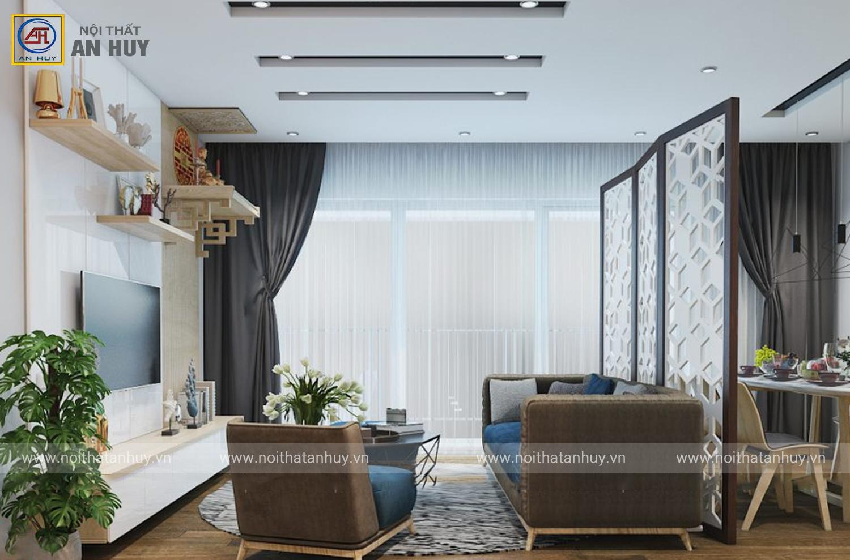 Thiết kế nội thất chung cư đẹp – Anland Complex Dương Nội