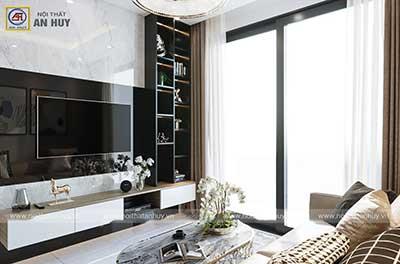 Thiết kế thi công nội thất chung cư D'capital – 65m2