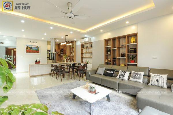 Hút mắt với thiết kế nội thất nhà phố 90m2 - 4 tầng (Anh Hải – Sơn Đồng, Hoài Đức, Hà Nội)